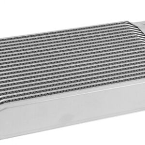 Universal 19 Row 10an Silver Aluminum Engine transmis Sion Oil Cooler 11 25 x6x2