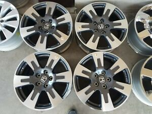 2017 2019 Honda Ridgeline 18 Wheels Rims Oem Factory Set Of 4 Free Shipping