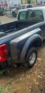 2018 Ford Oem F350 F450 Aluminum 8ft Dually Long Bed Tailgate Bumper Lights