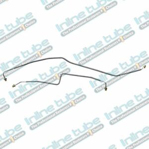 Rear Axle Brake Lines 1999 07 Chevy Gmc Truck 2500 3500 Dually Stainless Steel