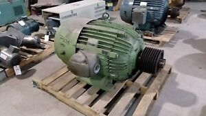 125 Hp Us Electric Motor 1800 Rpm 444t Frame Tefc 460 V 1 15 S f