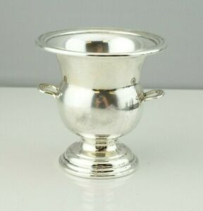 Dunkirk Silversmiths Sterling Silver Footed Tooth Pick Holder Cordial Cup