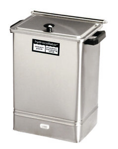 Hydrocollator Tabletop Heating Unit E 1 With 2 Standard And 2 Neck Packs