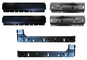 Front Rear And Inner Rocker Kit For 99 16 Ford Super Duty Super Cab Pair