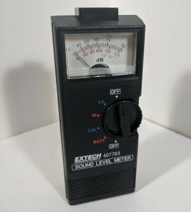 Extech Instruments Sound Level Meter 407703