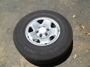 Toyota Tundra Stock 16 In Wheels And Tires Set Of 4 Used Very Good Shape