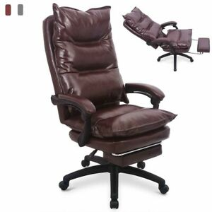 Executive Pu Leather Home High Back Ergonomic Luxury Office Computer Chair