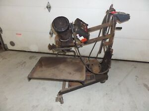 On Car Brake Lathe Hunter Ocl400 With Adapters