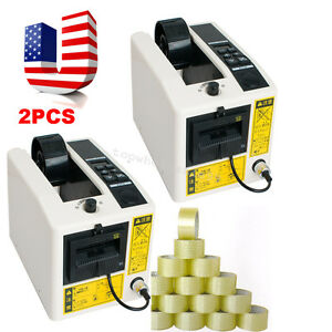 2pcs Automatic Tape Dispensers Adhesive Tape Cutter Packaging Machine