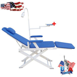 Dental Portable Simple Type folding Chair Gm c004 Rechargeable Led Light Usa