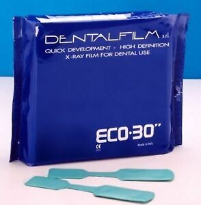 Dental X ray Film Eco 30 Self Developing X ray Films 50pcs