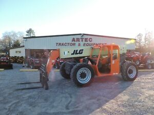 2013 Jlg G9 43a Telescopic Forklift 9k Capacity Watch Video only 4349 Hours