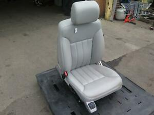 06 11 Mercedes W251 R Class Front Left Massage Leather Seat Oem