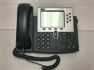 Cp 7960g Cisco Ip Phone 7900 Series Dark Grey New Open Box