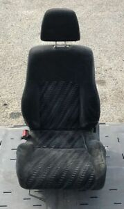97 01 Honda Prelude Sh Front Rear Left Right Cloth Seat Set Oem