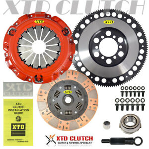 Xtd Stage 3 Dual Friction Clutch Race Flywheel Kit Rx 8 w counter Weight 1 3