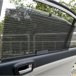 Us Stock Car Truck Auto Retractable Side Window Curtain Summer Sun Shield Blind