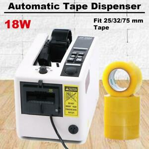 Automatic Auto Tape Dispensers Electric Adhesive Tape Cutter 18w Ac110v 60 Hz