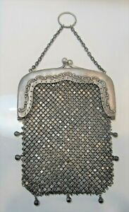 Antique Gorham Sterling Silver Chatelaine Purse