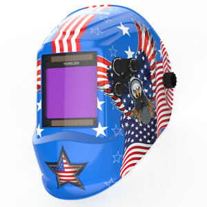 Big View True Color Pro Solar Welder Mask Tig Mig Auto Darkening Welding Helmet