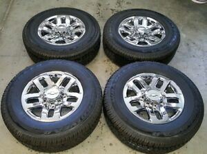 Chevy Gmc Oem Factory 18 Inch Wheels And Tires 2500 3500 Hd Truck Silverado