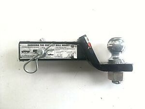 Trailer Hitch Ball Mount Draw Tite 40342 With Chrome Ball Nut 2 1 4 Drop