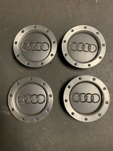Set Of Oem Orginal Audi Center Caps 8d0601165k 8d0 601 165k