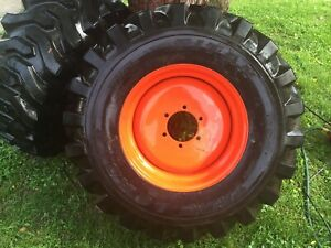 Kubota New Wheels With New Titan 15 19 5 Tires
