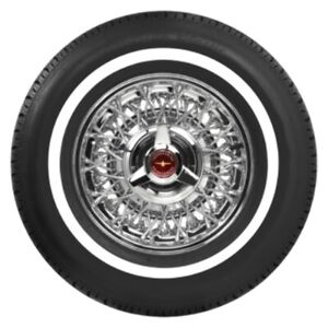 Coker American Classic 3 4 White Wall Radial Tire P195 75r15