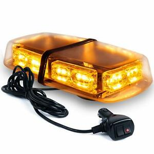 36 Led Light Bar Top Hazard Roof Flashing Emergency Strobe Truck Amber Universal
