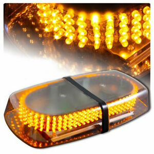 Amber 240 Led Roof Top Emergency Hazard Warning Flash Strobe Light Bar