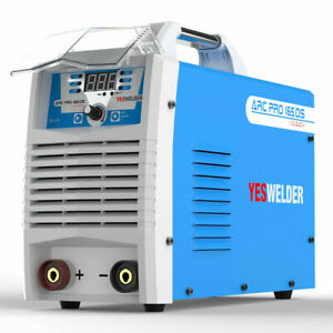 Stick Arc Welder Igbt Inverter 165a 220v 120a 110v Dual Volt Welding Machine