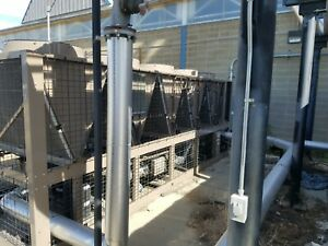 2 Ea 2014 York 164 Ton Air Cooled Chillers Used 2 Years excellent Condition