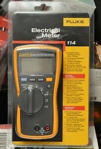 Fluke 114 True Rms Digital Electrical Multimeter