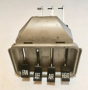 60 61 62 63 Chevy Truck Heater Control New Levers New Knobs Gmc 1960 1963 1962
