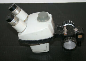 Bausch Lomb B l Stereozoom 4 Microscope Head And Focus Rack 11 46x