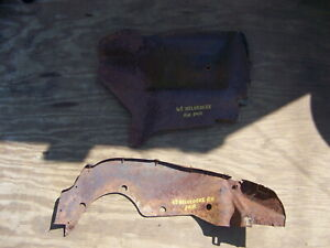 1965 Plymouth Belvedere Rh Fender Splash Shields Oem