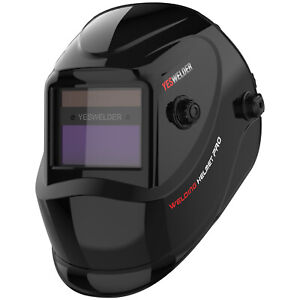 Pro Solar Welder Mask True Color Auto darkening Welding Helmet Arc Tig Mig Weld