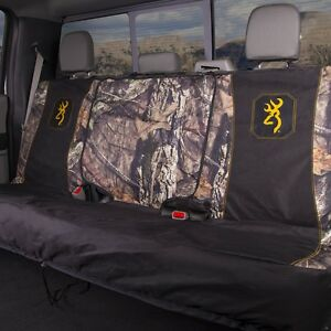 Browning Buckmark Mossy Oak Country Camo Bench Seat Cover Universal Camouflage