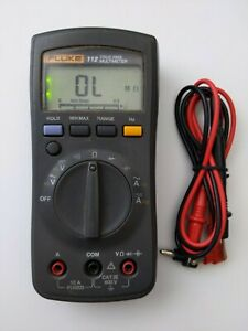 Fluke 112 True Rms Digital Handheld Pocket Multimeter Dmm New Test Lead Probes