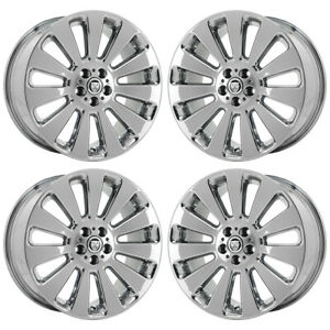 19 Jaguar Xf Auriga Pvd Chrome Wheels Rims Factory Oem 59837 Exchange