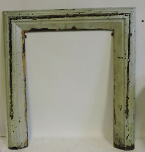 Antique Cast Iron Large Fireplace Surround 32 X 29 5