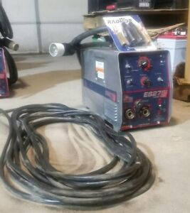 Lincoln Invertec V275 s Welder red d arc V275 s In Great Shape New Tips