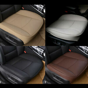 Breathable Car Front Seat Cover Pu Leather Seat Protector Cushion 3d Universal