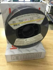 Two 11 Lb Rolls Er70s 6 035 Mild Steel Mig Welding Wire Ships Free A quality