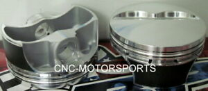 Sbc 350 355 Pro Srp Pistons Flat Top 4 030 Bore Fits 6 00 Rods With Rings