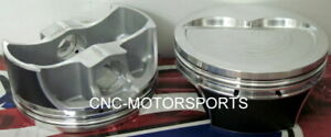 Sbc 383 Stroker Srp Pro Forged Pistons 16cc Dish 4 030 Bore 6 0 Rod W Rings