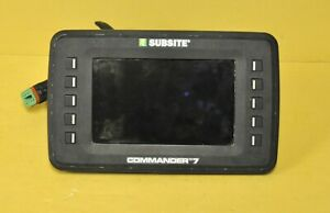 Subsite Commander 7 Tracker Ditch Witch Display Locator Monitor Recon Utiliguard
