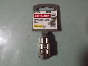 Craftsman Max Axess Socket 11mm 3 8 Drive 29271 Lifetime Warranty 1