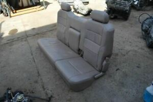 2000 2001 2002 2003 2004 Toyota Tundra Rear Seat Tan Leather Extended Cab